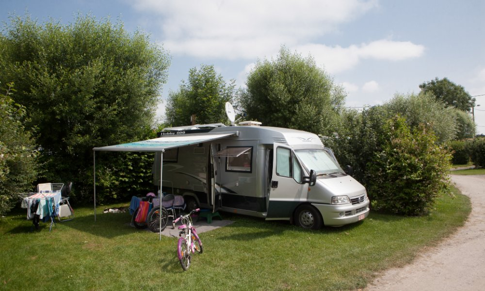 Aire camping-car à Nampont (80120) - Photo 1
